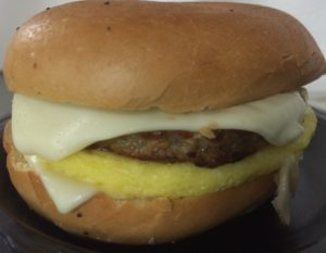 Sausage egg and cheese